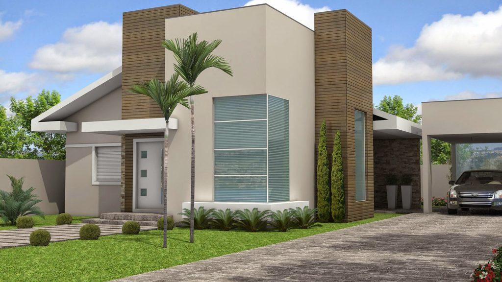 Escolha a cor perfeita para a fachada da sua casa for Cores modernas para fachadas de casas 2013